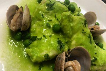 El Pintu Llaviana - Congriu en salsa verde con amasueles