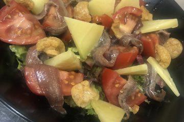 El Pintu Llaviana - Tomate eco, anchoes y varé