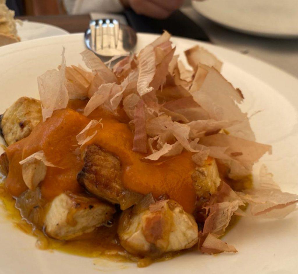 El Pintu Llaviana - Bonito encebollao, naranxa, bacon y sidra