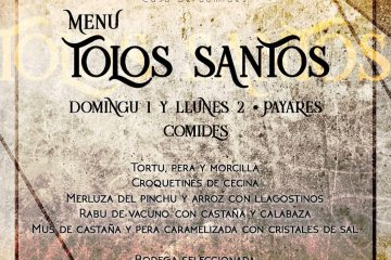 El Pintu Llaviana - Menú de Tolos Santos